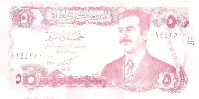 Billets d'Irak 910