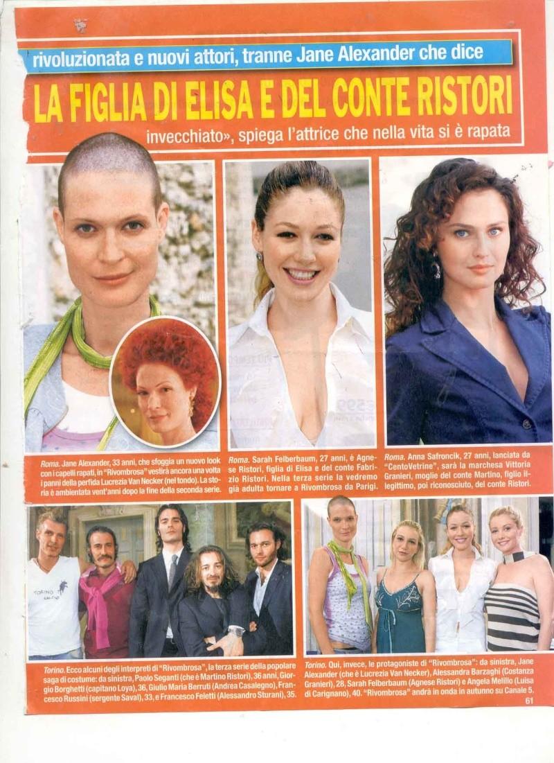 Saison 3: la fille d'Elisa Di Rivombrosa - Page 7 Agnese10