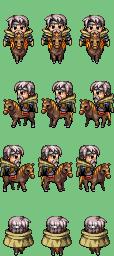 Personnages sur cheval Actor112