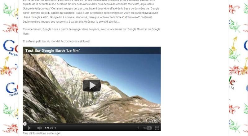 Googleinfodoc intègre une de nos vidéos Presse57