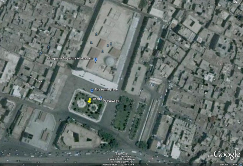 Mosquée Sayyidna Al-Hussein Le Caire Egypte Bombe11