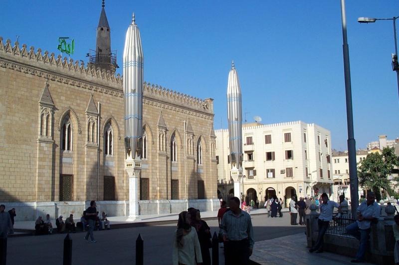 Mosquée Sayyidna Al-Hussein Le Caire Egypte Caire112