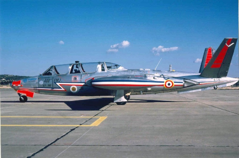 2 Magister à California city Fouga_10