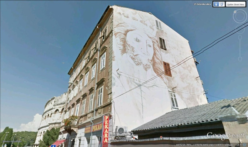 STREET VIEW : les fresques murales - MONDE (hors France) - Page 13 Pula_f10