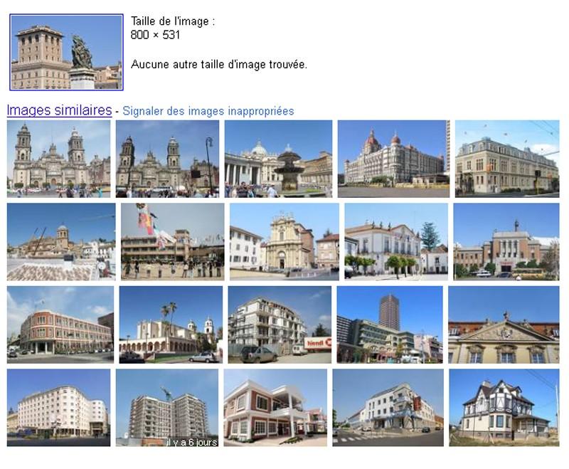 Défis Google: Recherche d'images à partir d'une Image Romego10
