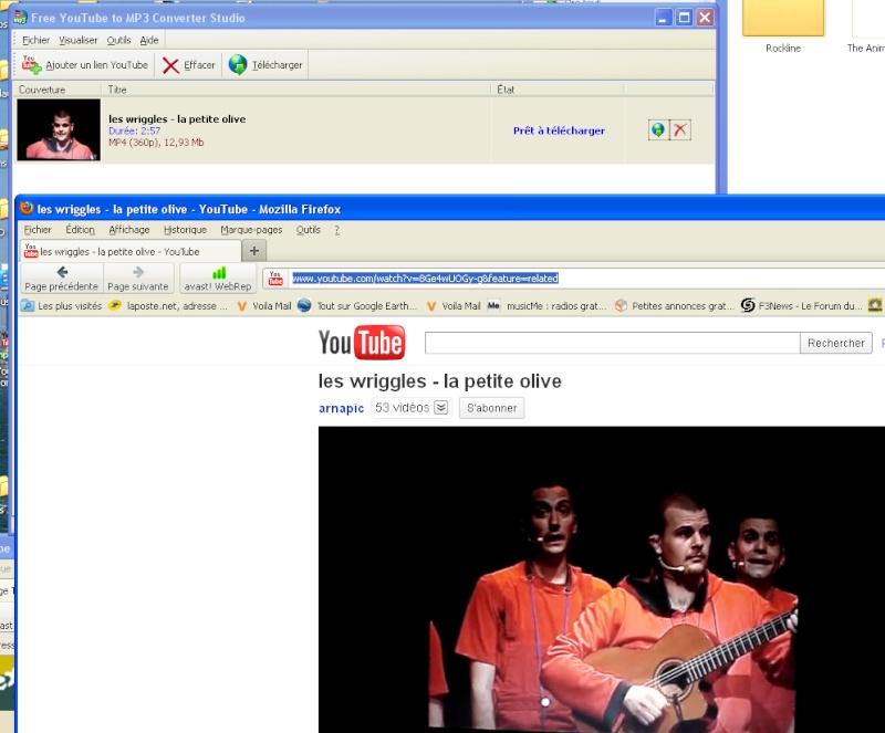 YouTube to MP3, ou comment enregistrer la bande son d'une video Youtub10