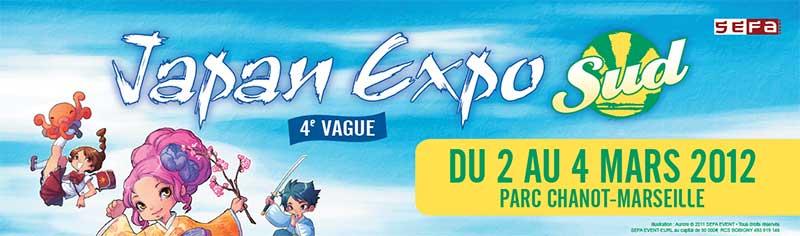 """Japan Expo SUD """"Marseille 2 - 4 Mars"""" 12021610"""