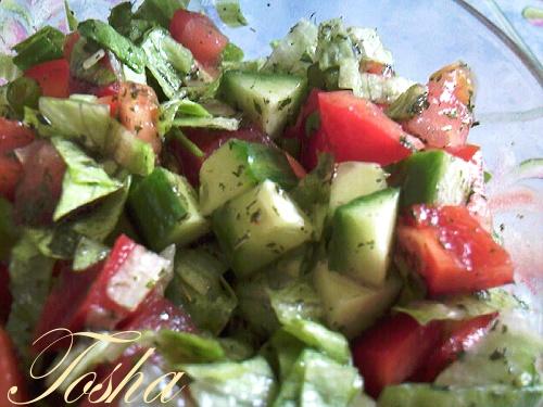 блюда - 01/07-14/07 Холодные супы, основные овощные блюда, салаты со свежими овощами Photo-55