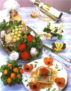 Искусство украшения блюд Selebr10