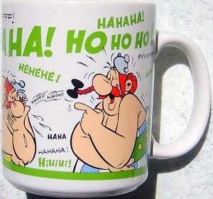 """Tasses et """"Mugs"""" du Parc Astérix Mini-t58"""