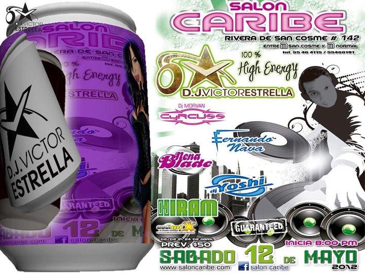 Víctor Estrella en el Salón Caribe, cerca Metro San Cosme, 12 de mayo. 31420710