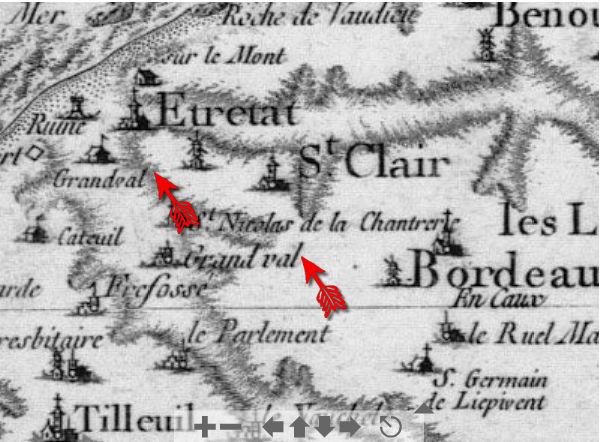 de Nourry: Armoiries, fief de GrandVal et Anoblissement A11