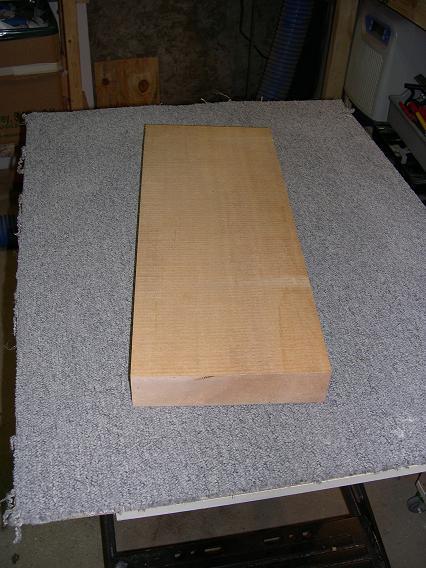Fabrication d'un dessus de guitare classique Dscn6510