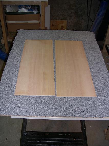Fabrication d'un dessus de guitare classique Dscn6516