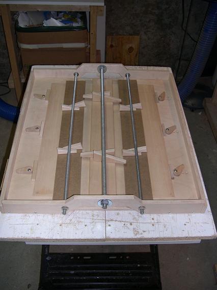 Fabrication d'un dessus de guitare classique Dscn6611