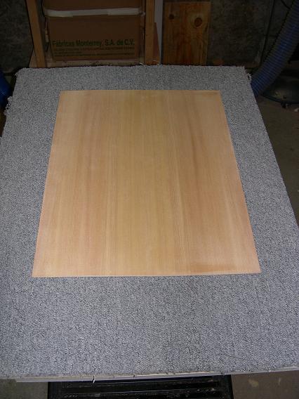 Fabrication d'un dessus de guitare classique Dscn6612