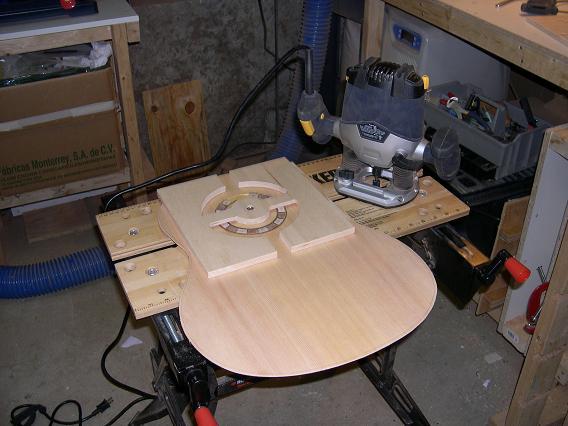 Fabrication d'un dessus de guitare classique Dscn6617