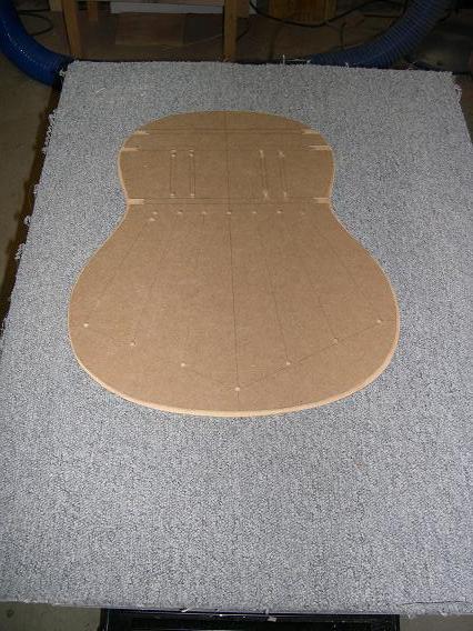 Fabrication d'un dessus de guitare classique Dscn6623