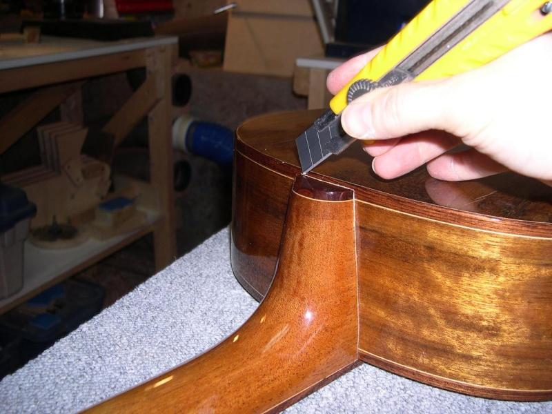 Fabrication d'un dessus de guitare classique Dscn6812