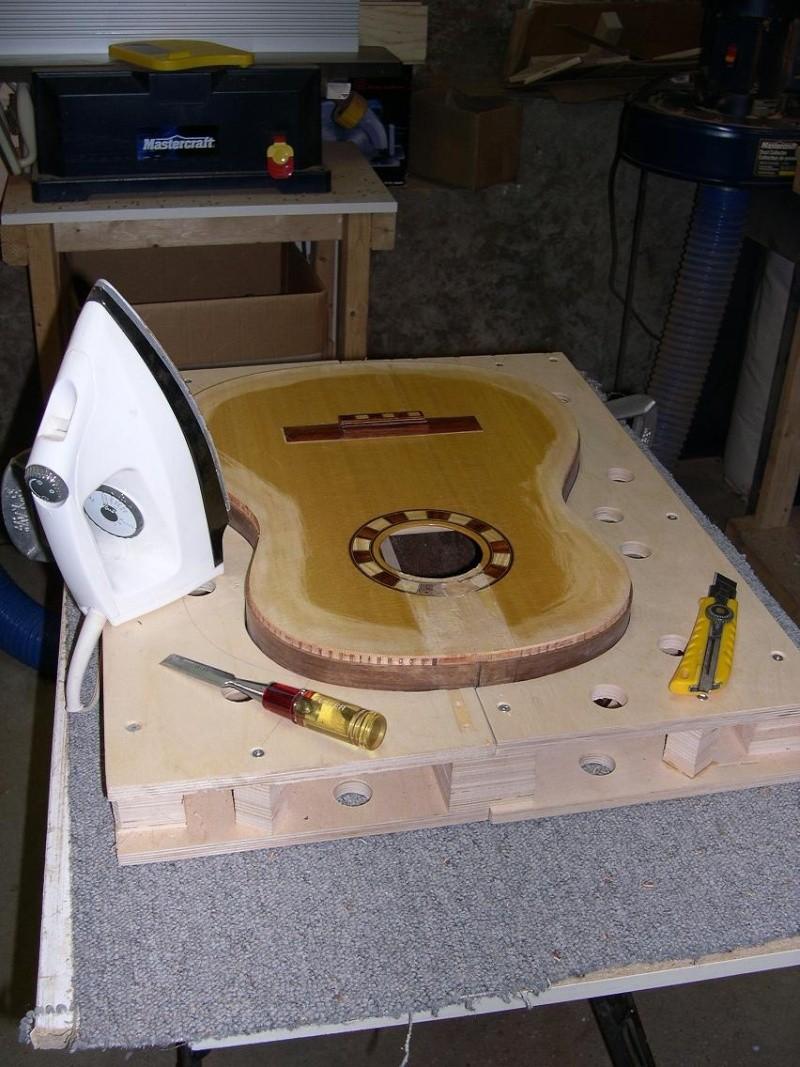 Fabrication d'un dessus de guitare classique Dscn6817