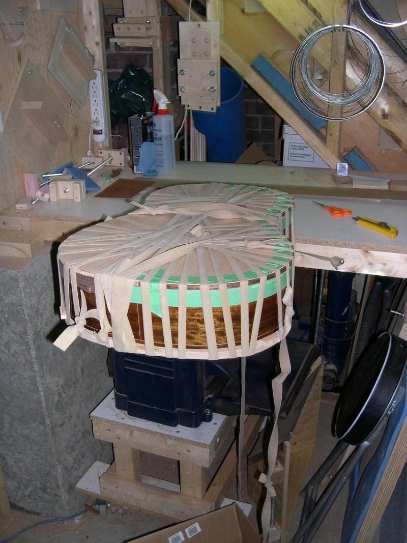 Fabrication d'un dessus de guitare classique Dscn6827