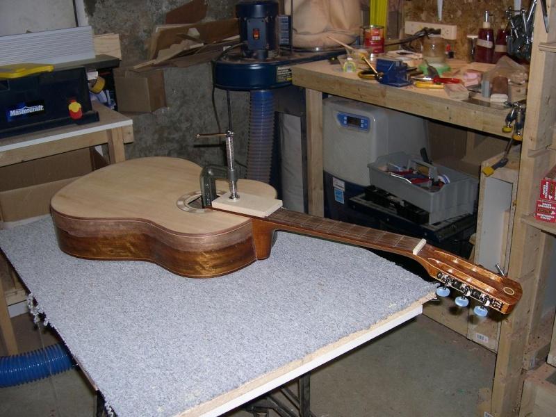 Fabrication d'un dessus de guitare classique Dscn6830