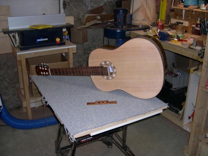 Fabrication d'un dessus de guitare classique Dscn6831