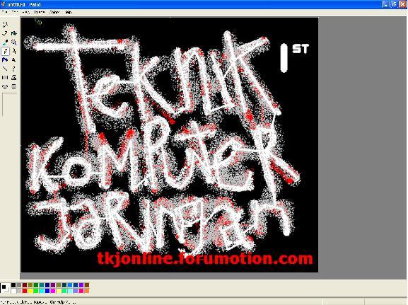 tric mengaplikasikan paint (1) 510