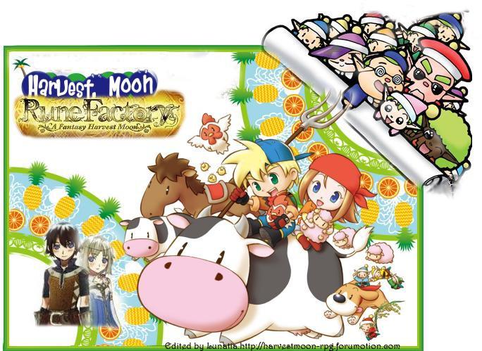 New,Fun,HarvestMoon X Rune Factory RPG Banner15