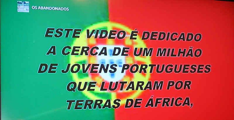 """Guerra do Ultramar: «Os Abandonados» - no """"MEO"""" (televisão) 0114"""