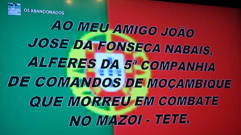 """Guerra do Ultramar: «Os Abandonados» - no """"MEO"""" (televisão) 01a10"""
