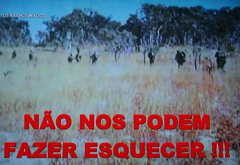 """Guerra do Ultramar: «Os Abandonados» - no """"MEO"""" (televisão) 0313"""