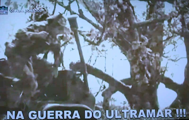 """Guerra do Ultramar: «Os Abandonados» - no """"MEO"""" (televisão) 0511"""