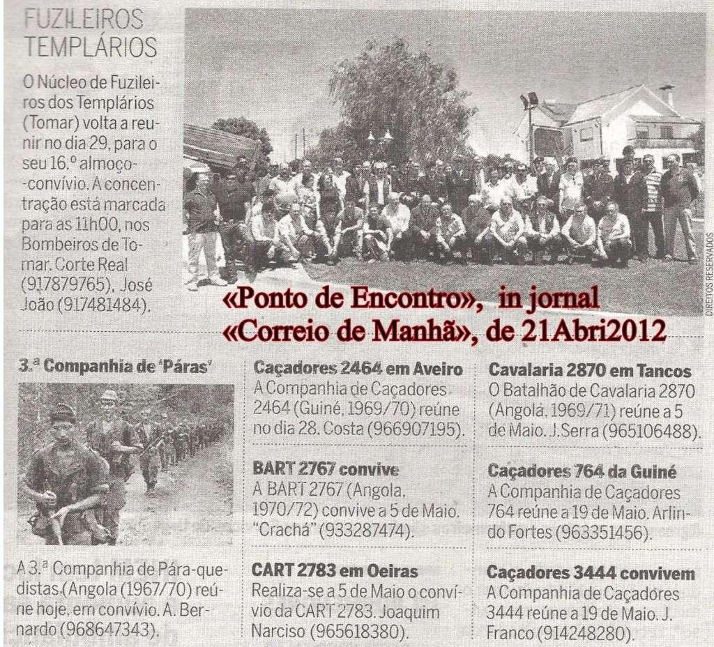 Encontros Convívios de Antigos Combatentes, in Correio da Manhã, de 21Abr2012 0image10