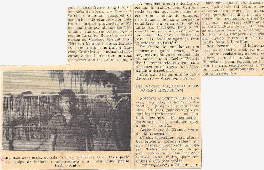 Foi há 40 anos, 5Jun1972, faleceu o Furriel Mil.º de Infantaria Crispim Ferreira Gomes, da 3ª/BCac20 2conti10