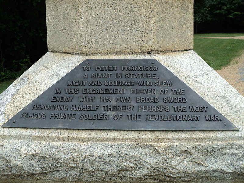 Pedro Francisco - Herói da Guerra da Independência dos Estados Unidos da América Att00011