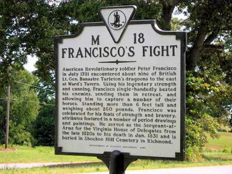 Pedro Francisco - Herói da Guerra da Independência dos Estados Unidos da América Att00012