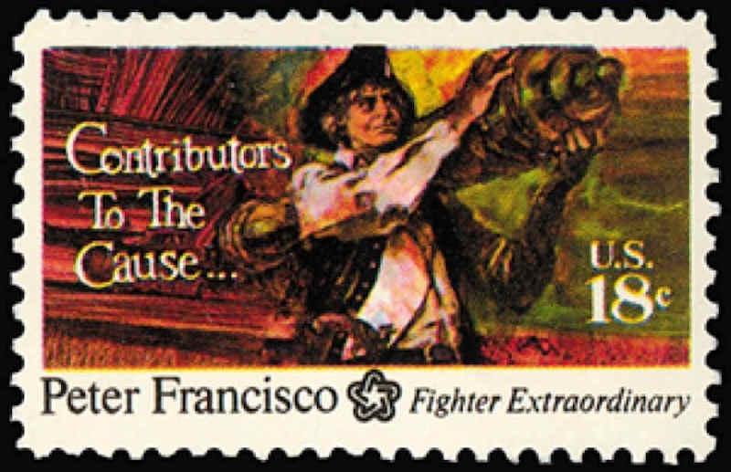 Pedro Francisco - Herói da Guerra da Independência dos Estados Unidos da América Att00017