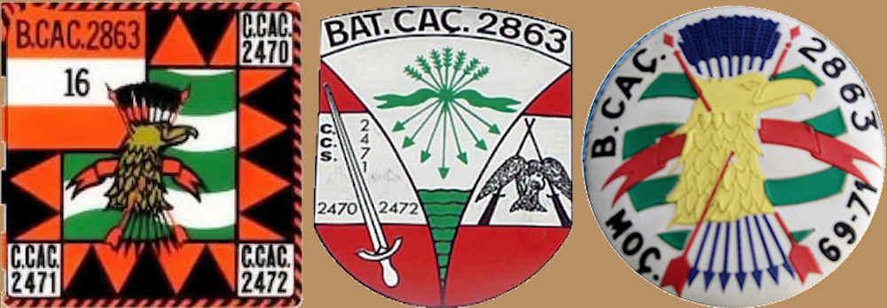 1.º Sargento Marçal Luiz Rita, da CCac2470/BCac2863 Bcac2816