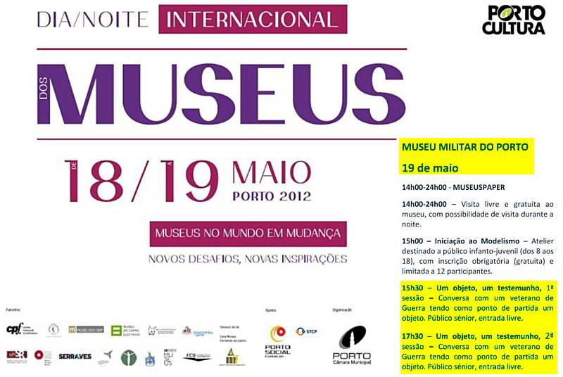 Museu Militar do Porto: 19 de Maio de 2012 Conver11