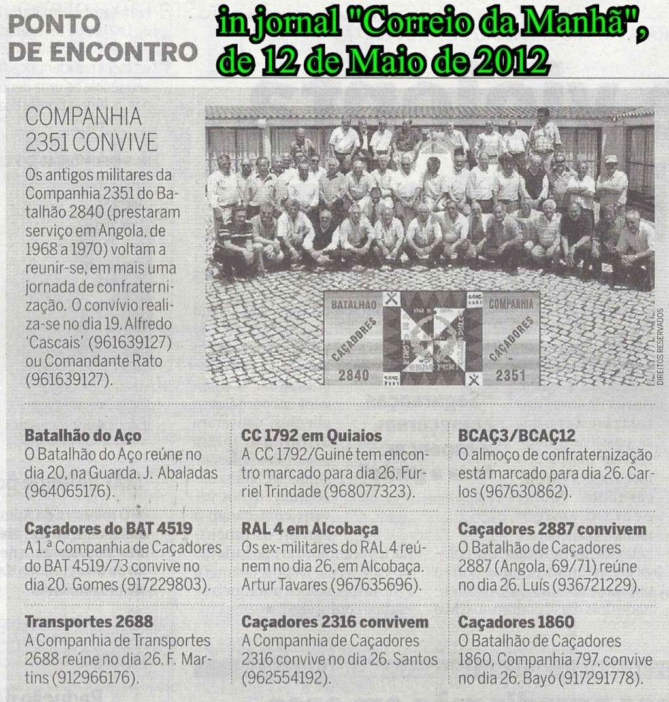Encontros Convívios de Antigos Combatentes, in Correio da Manhã, de 12Mai2012 Image412