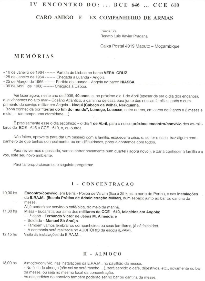 Os eventos da Companhia de Caçadores 610/BCac646 Angola 1964/1966 Iva_p_12
