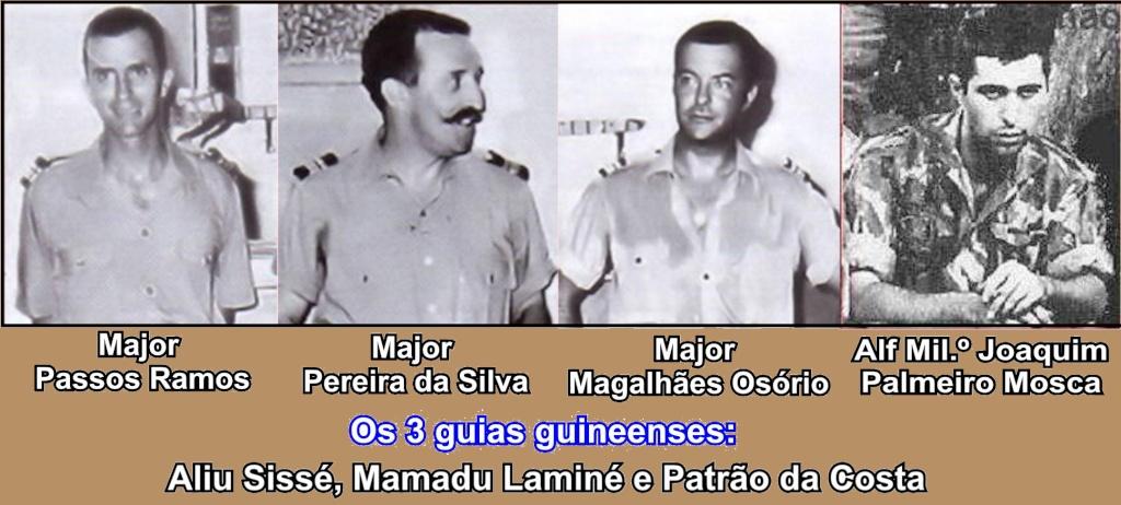 Efeméride 20Abr1970: Foram barbaramente abatidos, por três pseudo-guerrilheiros do PAIGC ... Majore11