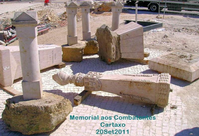 Cartaxo - Monumento aos combatentes Mem-ct10