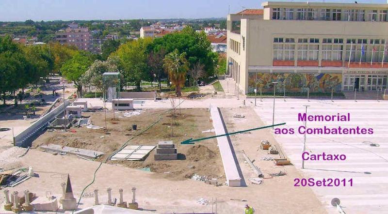 Cartaxo - Monumento aos combatentes Mem-ct12