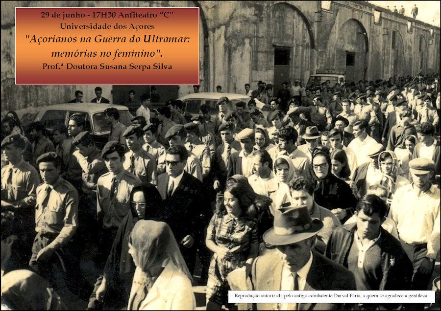 Universidade dos Açores: 29Jun2012 «Açorianos na Guerra do Ultramar: memórias no feminino» Progra12