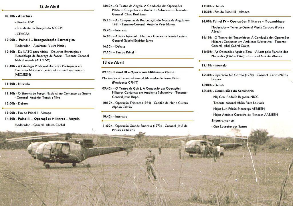 12 e 13Abr2012: Seminário Guerra de África - Portugal Militar em África 1961 - 1974  Semina11