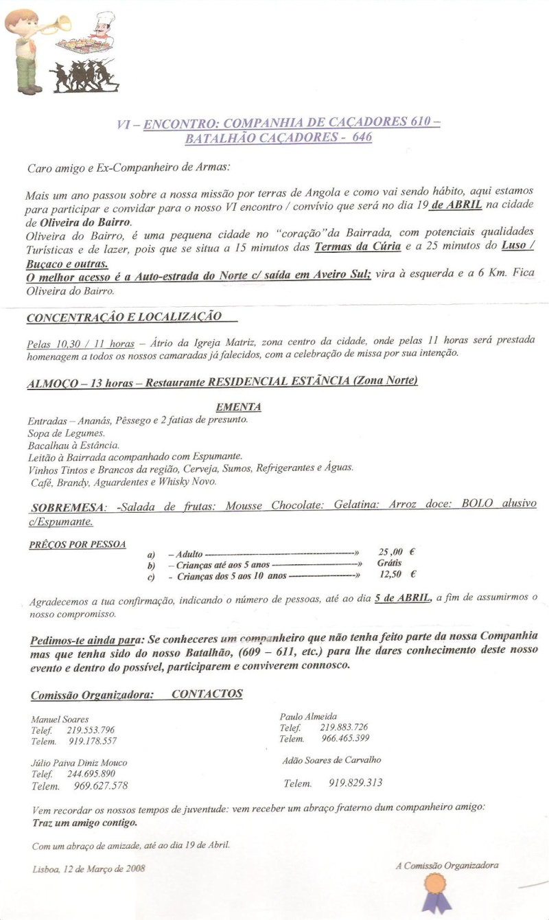 Os eventos da Companhia de Caçadores 610/BCac646 Angola 1964/1966 Via_ol10