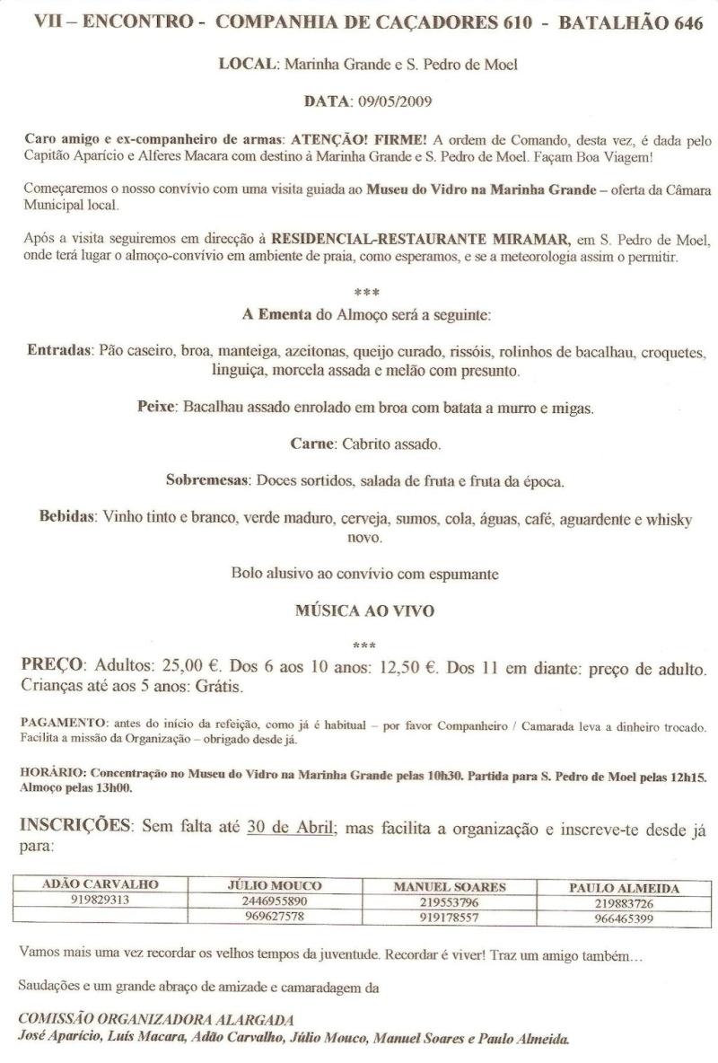 Os eventos da Companhia de Caçadores 610/BCac646 Angola 1964/1966 Viia_s10