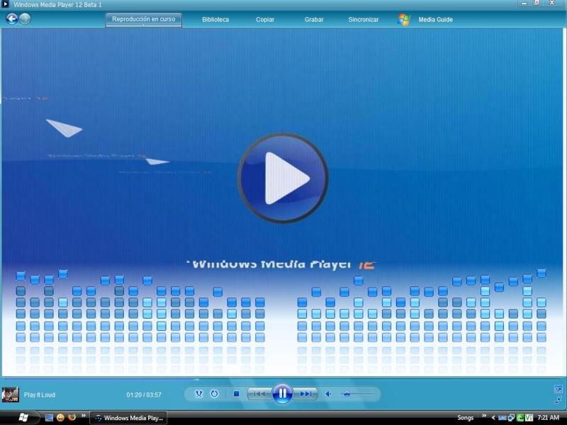 Windows Media Player 12 Beta 1 Screen10